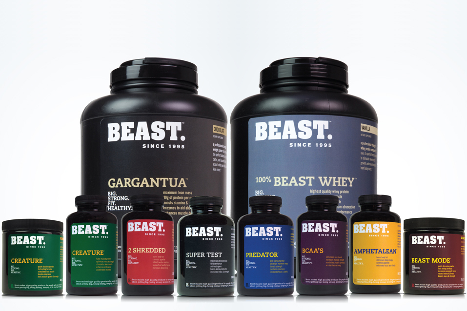 nutrition supplements packaging